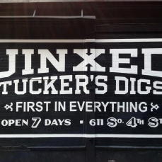 Jinxed, Tucker's Digs Billboard