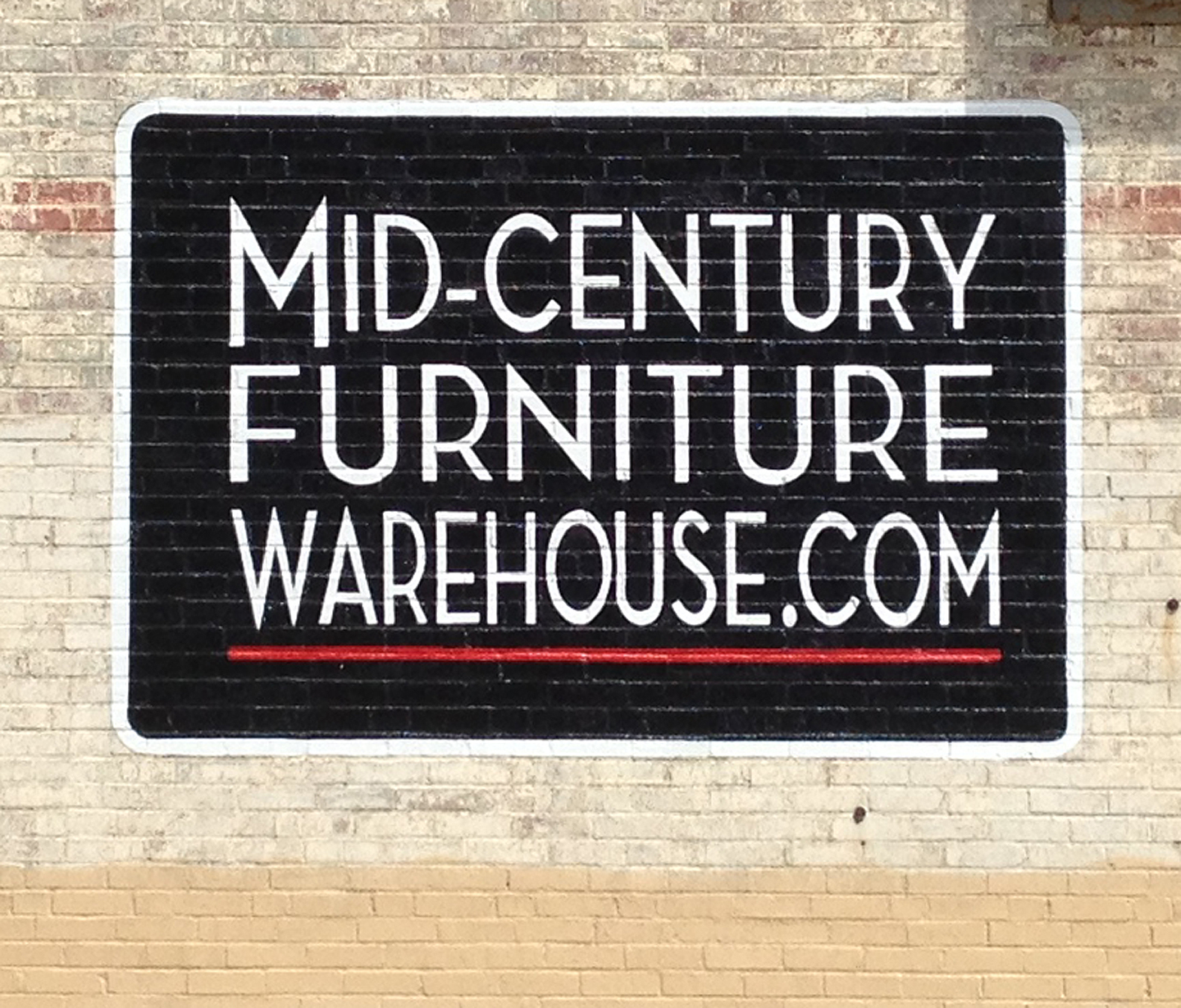 Mid Century Furniture Warehouse – Rowland Signs