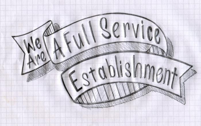 Full Service Sketch